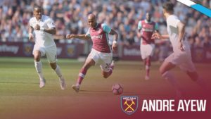 Andre Ayew triumphs over his brother Jordan in West Ham-Swansea EPL clash