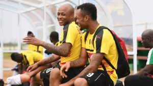 Andre Ayew: There is 'no rivalry' between me and Jordan
