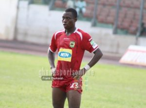 Revealed: Asante Kotoko defender Awudu Nafiu sent off in Medeama game for cursing referee