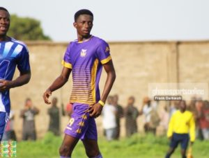 Tema Youth secure services of young defender Baba Musah