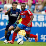 Huge relief for Ghana attacker Ben Acheampong as he scores in El Darkleya Win