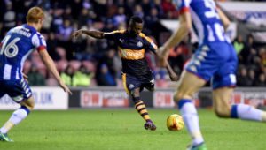 "Christian Atsu determined to make Newcastle fans ""proud"" in promotion push"