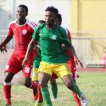 Former Aduana Stars forward Derrick Sasraku express interest in joining Club African after breakdown talks with MSK Zilina