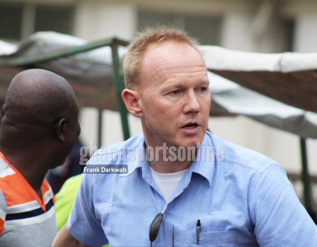 BREAKING NEWS: Hearts of Oak suspend coach Frank Nuttall indefinitely for misconduct