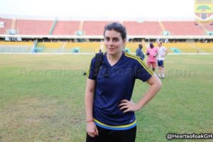 Hearts of Oak confirm Julia Winkler  as new Physio for five months