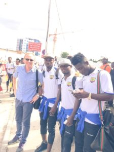 Hearts Coach Nuttall and charges cheerful ahead of Kotoko clash