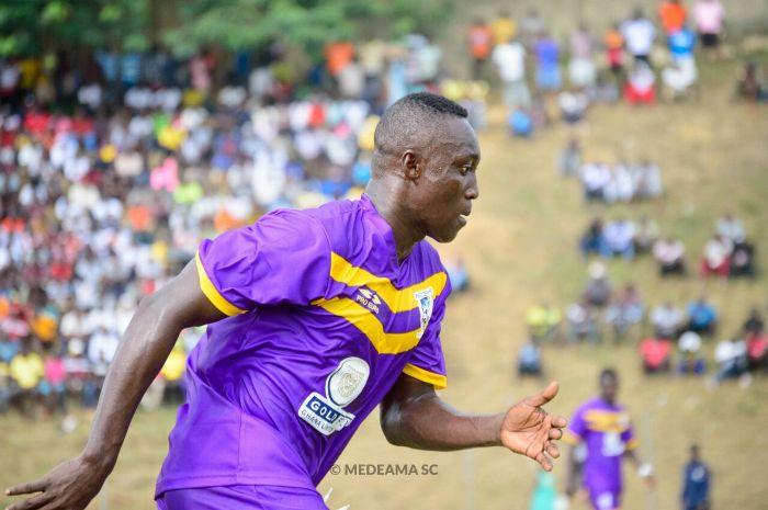 Medeama Captain Samuel Adade Promises fans win over Kotoko