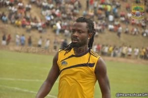 Huge boost for Hearts as Malik Akowuah is passed fit for Ashgold game