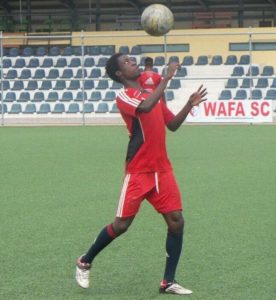 "WAFA attacker Majeed Ashmeru "" I will always choose Kotoko over Hearts"""