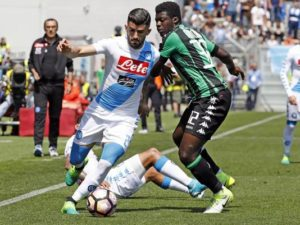 Alfred Duncan suffers racial abuse in Italian Serie A