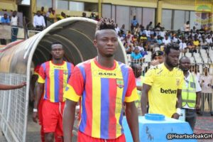 New Hearts role excites Fatawu Mohammed
