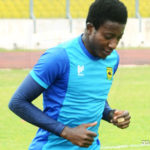 Kotoko goalkeeper Felix Annan happy to be back in training after recovering from a shoulder injury