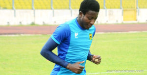 Kotoko's recent poor form frustrates goalkeeper Felix Annan