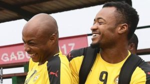 I used to laugh at Andre when he was at Swansea – Jordan Ayew