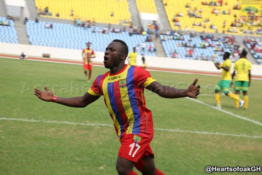 Hearts confirm Patrick Razak move to FC Horoya