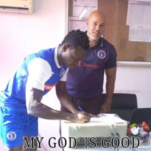 Wa All Stars Striker Richard Arthur joins Angolan side Deportivo Interclubbe