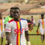 Former Hearts midfielder Andoh arrives for CAPS trial
