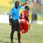 Referee Yakubu Liman handed 8-match ban for denying Hearts a penalty