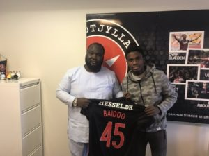 Ghana Youth International Michael Baidoo signs for Danish side Midtjylland