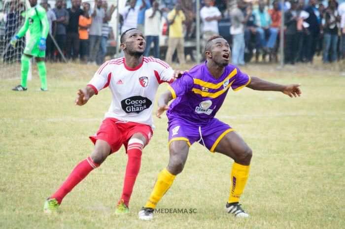 Medeama striker Benard Ofori targets 15 goals in the second round of GPL