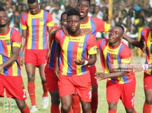 We want to end the trophy drought- Hearts of Oak striker Cosmos Dauda