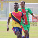 Hearts Striker Cosmos Dauda happy with competition in the team