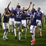 Frank Acheampong and Adjei Sowah win Belgian League title with Anderlecht
