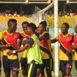 Hearts of Oak beat All Blacks in a club friendly