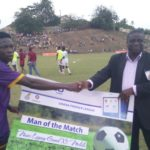 Medeama star midfielder Justice Blay wins NASCO Man of the Match in Elmina Sharks win