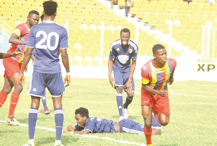 MTN FA CUP R32: Hearts to tackle Kotoku Royals on Sunday