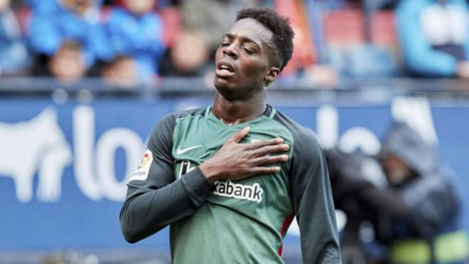 Napoli is the latest club to show interest in Inaki Williams