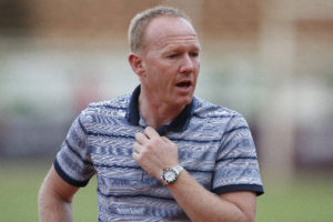 Hearts Coach Frank Nuttal expects tough game from Liberty