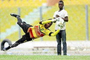 Kotoko goalkeeper Felix Annan ready to compete for position in the Black Stars