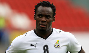 Michael Essien claims his mother convinced him to play for Ghana