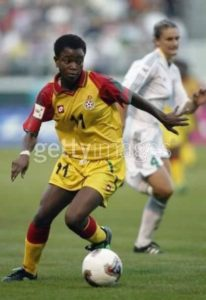 Former Black Queens player Gloria Oforiwaa passes on