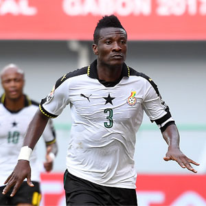 Asamoah Gyan calls on corporate organizations sponsor football in Africa