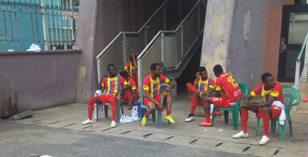 BREAKING NEWS: Hearts of Oak denied access to Accra sports stadium for training