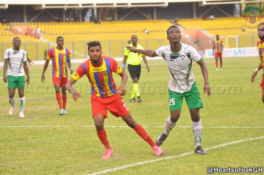 Hearts coach Frank Nuttall backs Kwame Kizito to score more goals