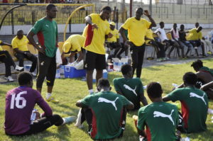 Andre Ayew praises local players in Black Stars Camp