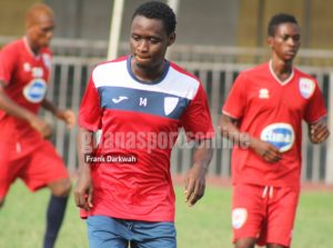 Inter Allies striker Martin happy to have scored his first goal for the club