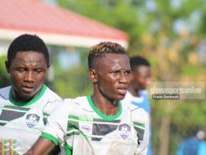 Bolga All Stars defender Moro Ibrahim proud of his performance in the GPL