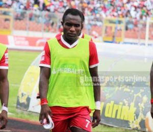 Kotoko striker Obed Owusu urges team to move on after Olympics draw