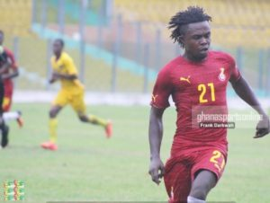 Black Stars B striker Stephen Sarfo wants to keep place in the team