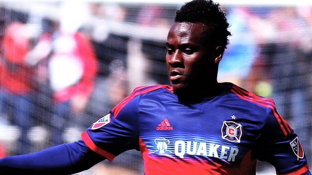 Impressive David Accam will be in the MLS team of the season that will play Real Madrid