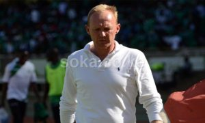 Hearts Coach Frank Nuttal bewildered by defeat to Ashantigold