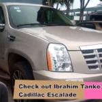 Check out Black Stars assistant coach Ibrahim Tanko's sleek $90k Cadillac Escalade (VIDEO)
