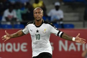 Andre Ayew lauds colleagues for Ethiopia win