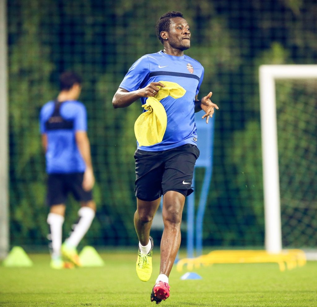 Asamoah Gyan receives the backing of Sam Johnson to take the Turkish league by storm