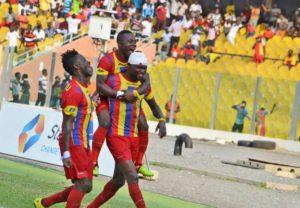 MATCH REPORT: Hearts thrash Tema Youth 3-1