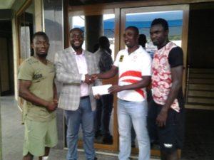 Inter Allies makes donation to Kumasi Asante Kotoko after tragic accident